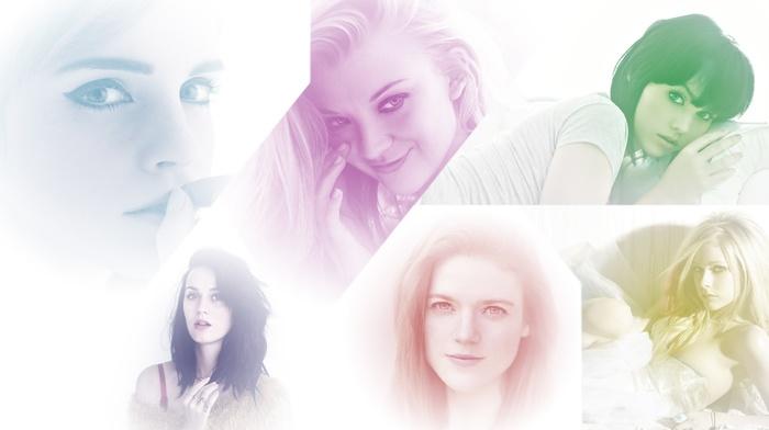 Avril Lavigne, Melissa Clarke, Katy Perry, rose leslie, Emma Watson