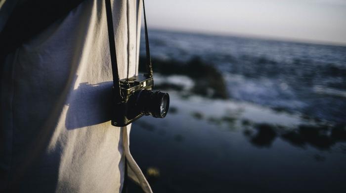 sea, camera