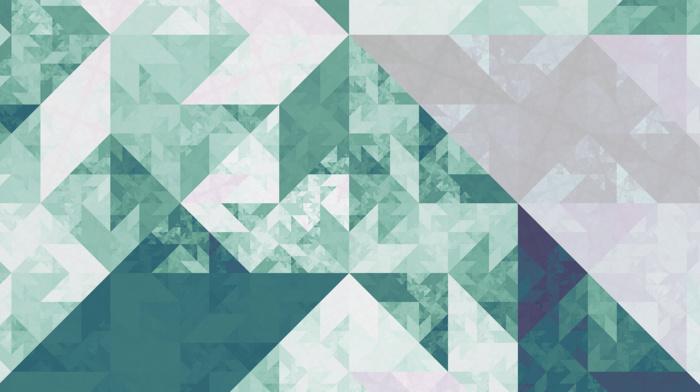geometry, green, isometric, tesselation, cube, fractal, triangle, pattern, bright, Apophysis