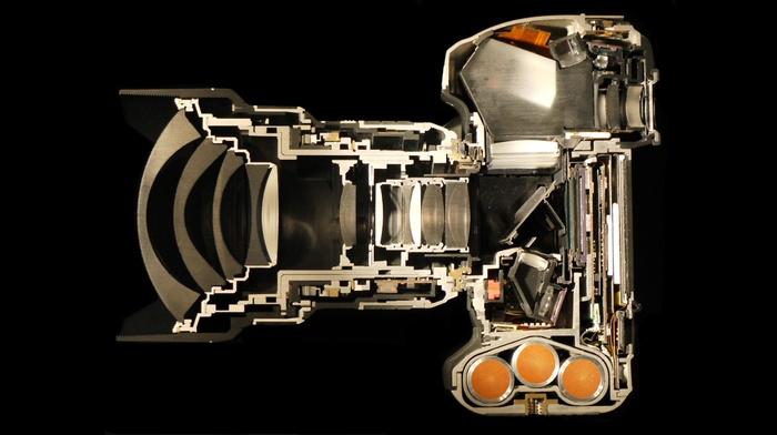 cutaway, camera