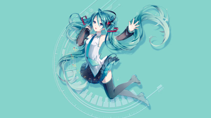 anime girls, Hatsune Miku, Vocaloid, anime