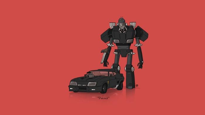 minimalism, car, Transformers