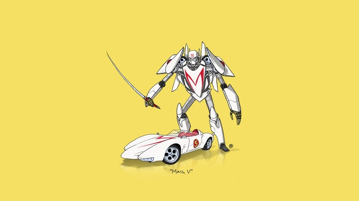 Transformers, minimalism, car