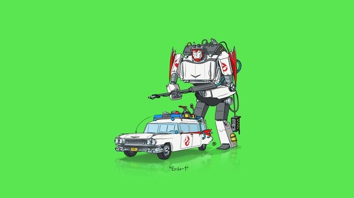 car, Transformers, minimalism
