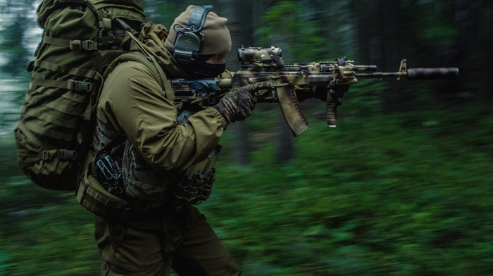 forest, russian, Spetsnaz, military, Russia, special forces, soldier