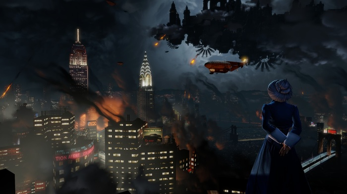 BioShock Infinite, video games, BioShock