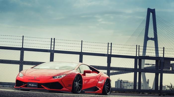 LB Performance, Lamborghini, Lamborghini Huracan LP 610, 4, Liberty Walk, widebody, car