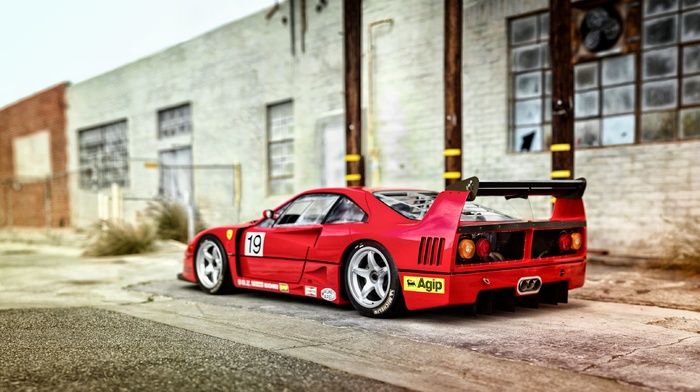 Ferrari F40, vehicle, car