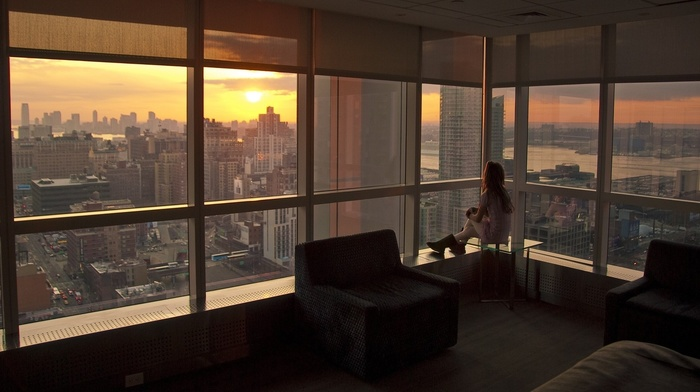 city, interiors, room