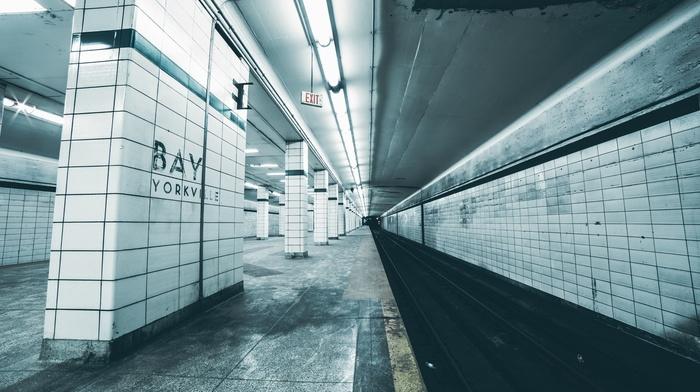 subway, train station