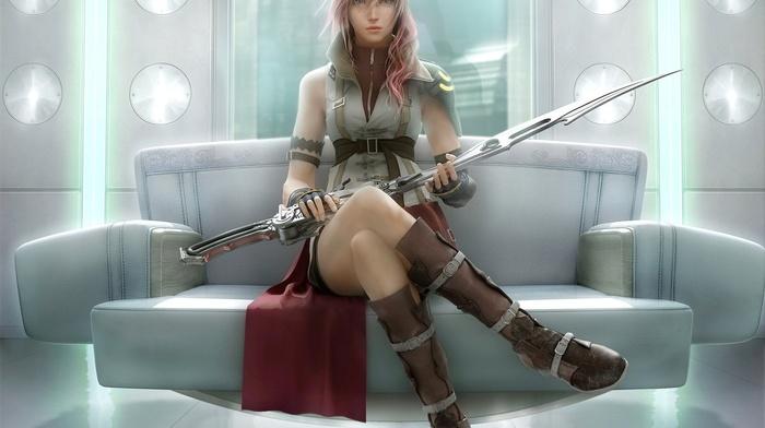 video games, lightning, Lightning xiv