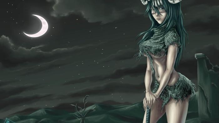anime girls, warrior, Nelliel Tu Odelschwanck, Bleach