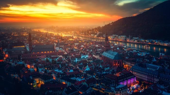 river, Germany, city