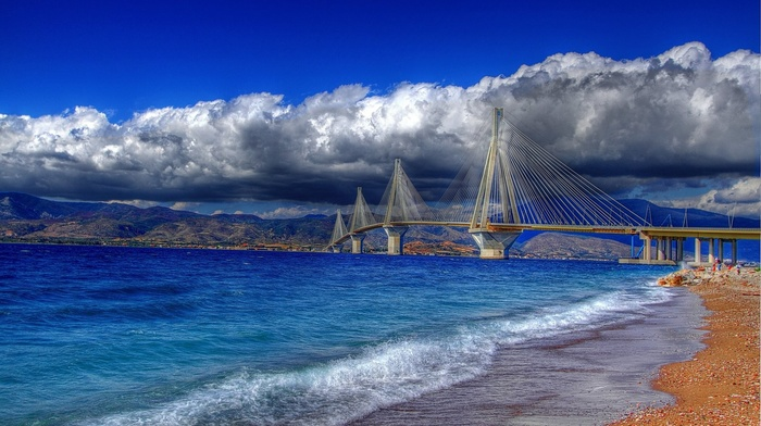HDR, Greece, landscape