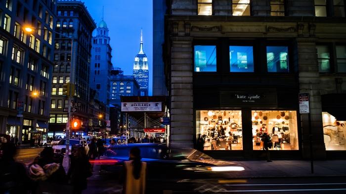 New York City, USA, urban, city, traffic