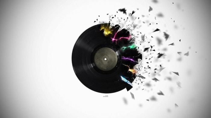 explosion, vinyl