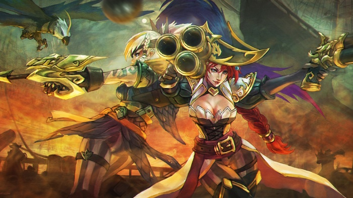 Quinn, Miss Fortune, League of Legends