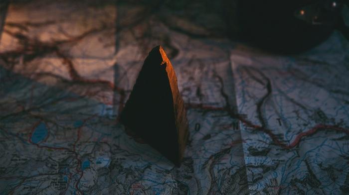 rock, map