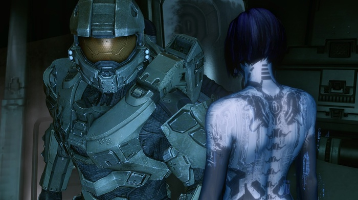Halo, Cortana, Master Chief, video games