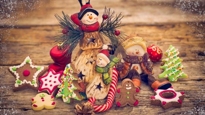 Christmas ornaments, treats, Christmas