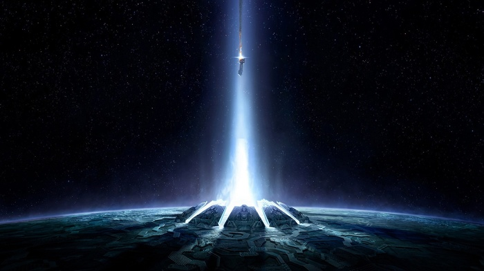 video games, galaxy, space art, space, Halo, artwork