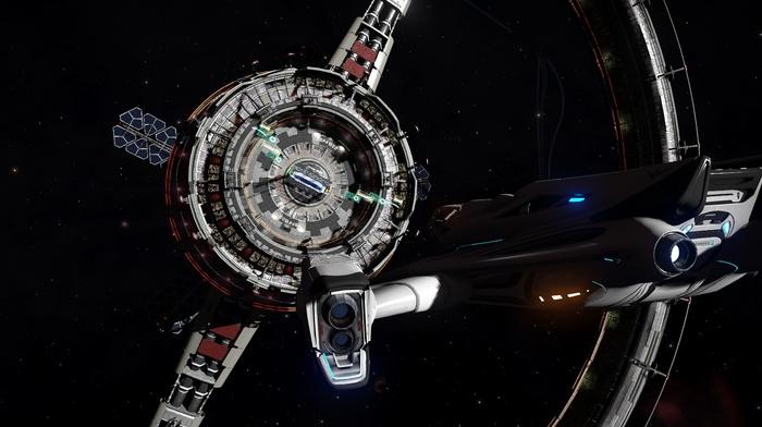 space, Elite Dangerous, video games, science fiction