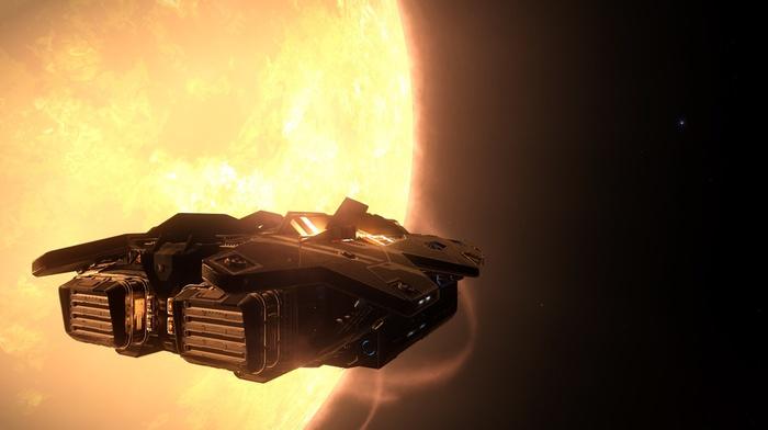 space, video games, suns, Elite Dangerous, science fiction