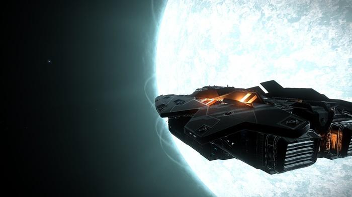 space, video games, Elite Dangerous, suns, science fiction