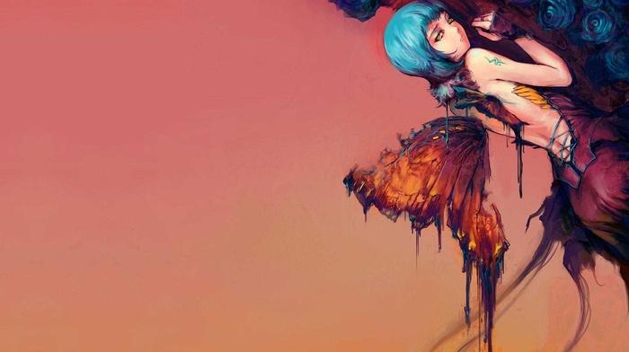 butterfly, fantasy art