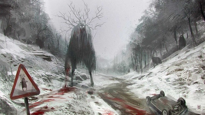 blood, fantasy art