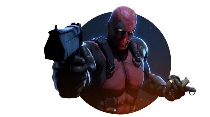gun, Marvel Comics, Deadpool