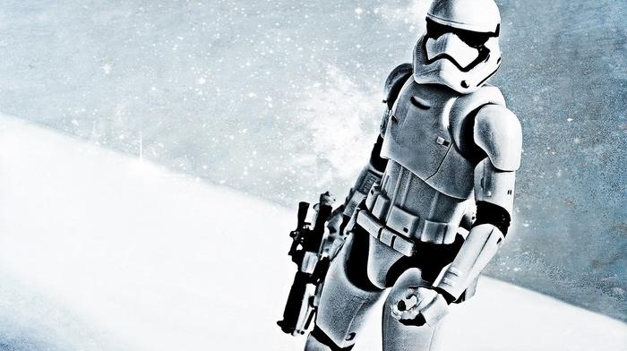 gun, Star Wars Episode VII, The Force Awakens, Star Wars, stormtrooper