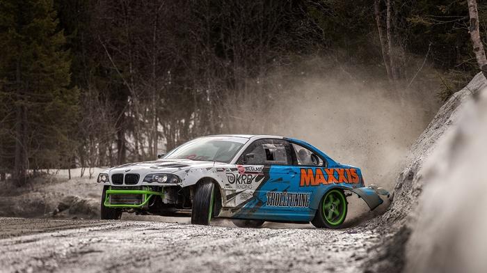 BMW, speed hunters, cars, drift, nature, BMW M3
