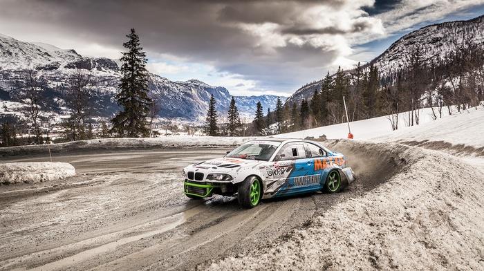 BMW M3, cars, BMW, drift, speed hunters, nature