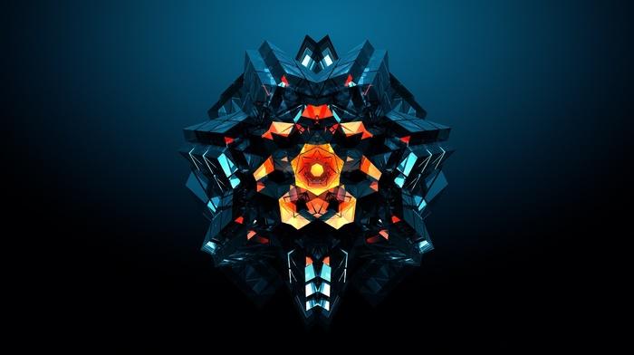 digital art, abstract, geometry