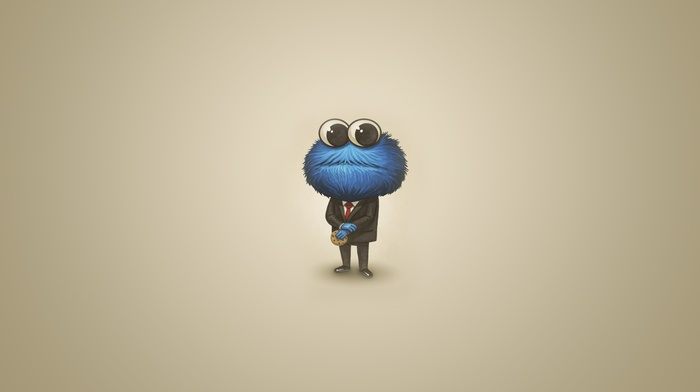 Cookie Monster, suits
