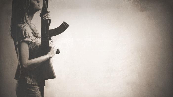 rifles, gun, Red State movie, AK 47