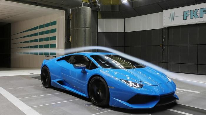 blue cars, vehicle, Lamborghini Huracan, Lamborghini, car