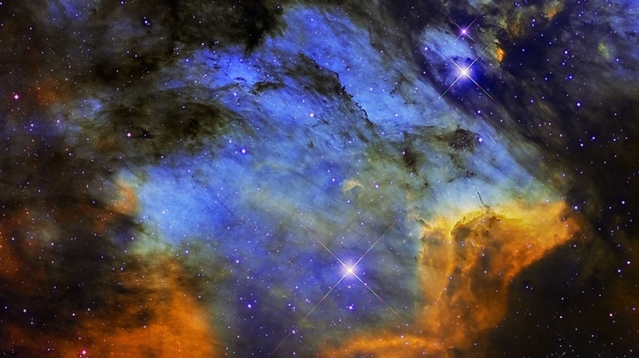 stars, galaxy, sky, NASA, planet, nebula