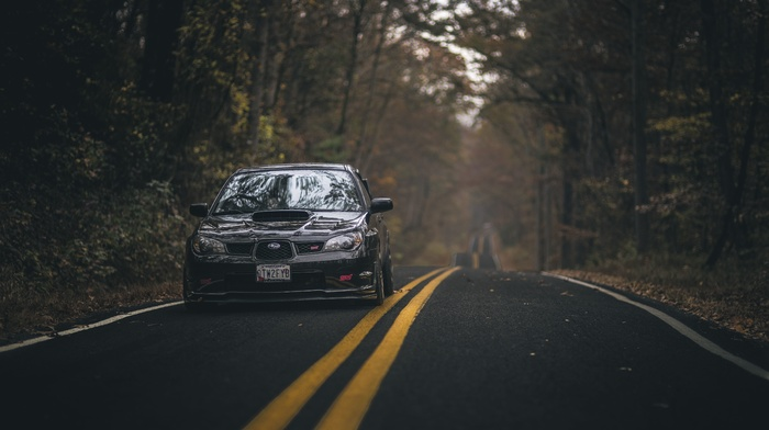 Subaru, vehicle, road, car