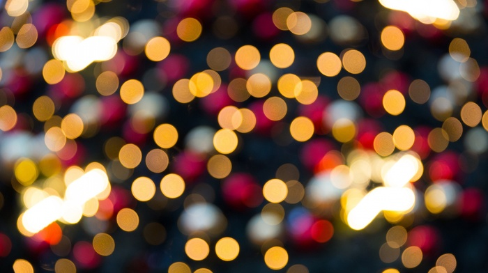 colorful, bokeh, lights, abstract, photography, blurred
