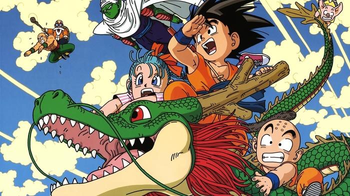 Dragon Ball Z, anime, Dragon Ball, Krillin, Son Goku, Piccolo