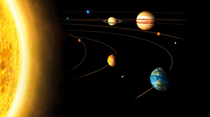 planet, Sun, Jupiter, orbits, saturn, Venus, space, Mercury, Earth, Mars, Solar System, Neptune, Uranus