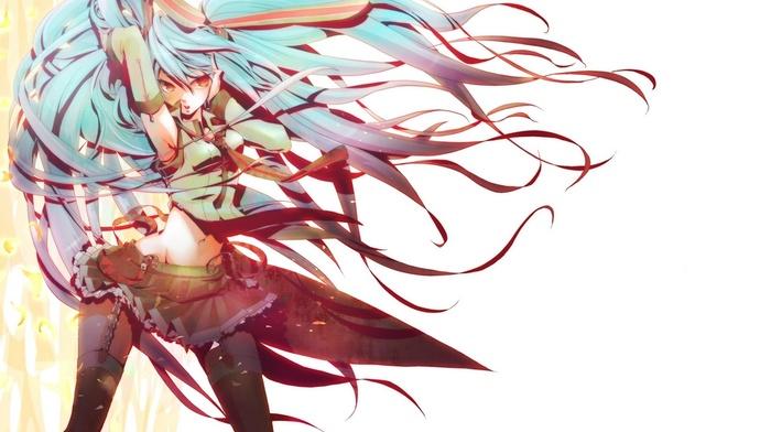 anime, Vocaloid, Hatsune Miku