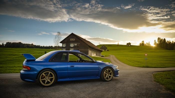 Subaru Impreza WRX STi, tuning, Subaru, car, Speedhunters, JDM