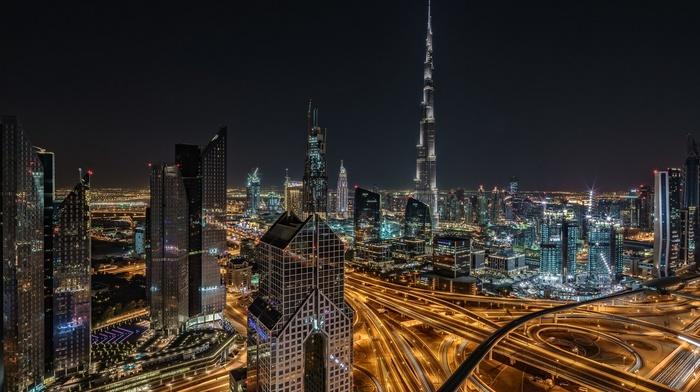 city, skyscraper, Dubai, United Arab Emirates