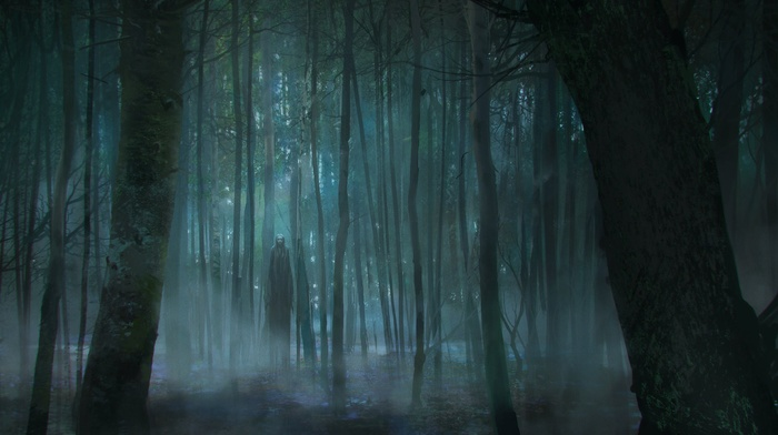 horror, forest