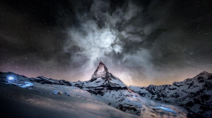nature, mountain, Matterhorn