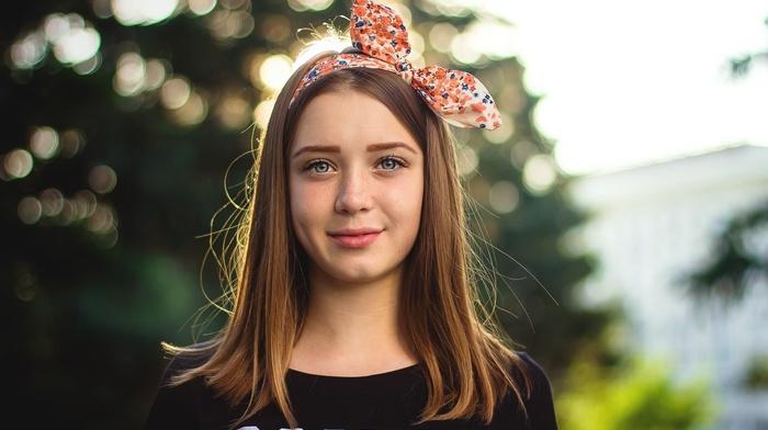 face, girl, portrait, teens, freckles, smiling, blonde