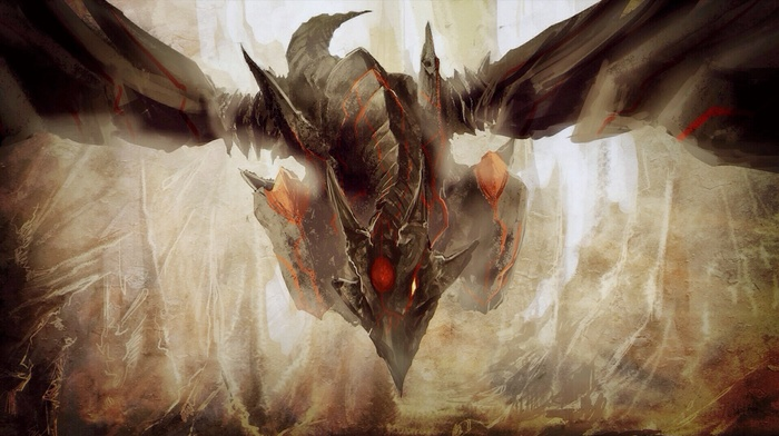 konami, dragon, red, Eyes Darkness Dragon, Trading Card Games, cave, comic art, Yu, Gi, Oh